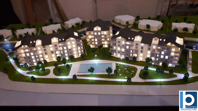 Holiday Resort Scale model