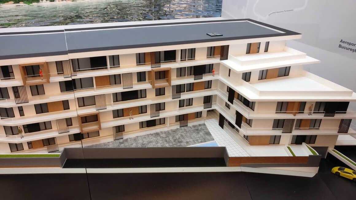 Apartments building model