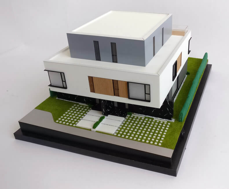 Architectural Design Modern Duplex House