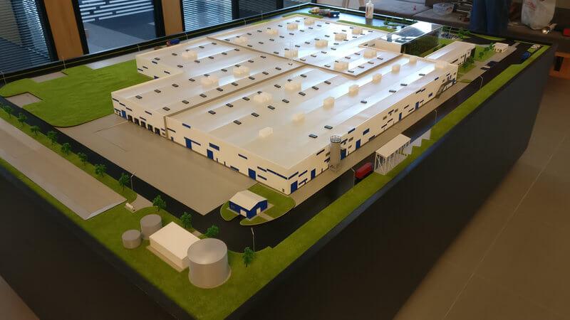 Architectural Model 1500 scale