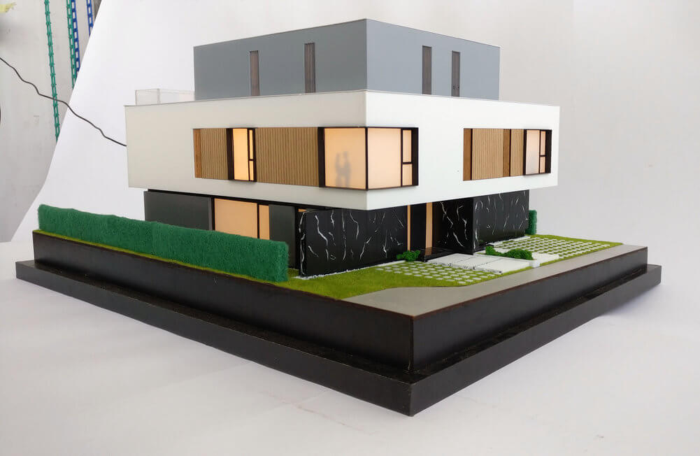 Architectural Model Duplex House