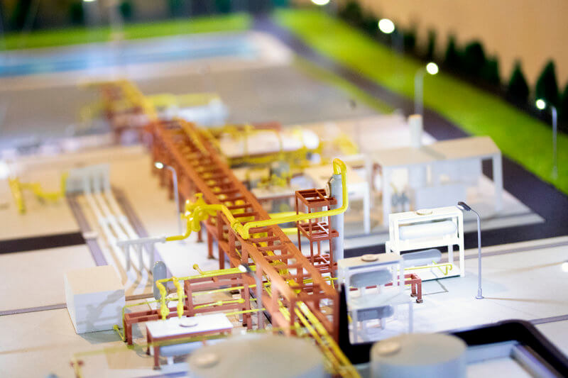 Gas Industry platform model