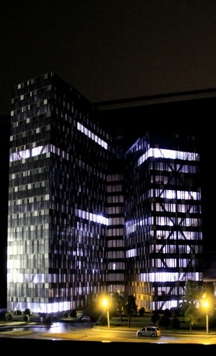 Illuminated Architectural Model