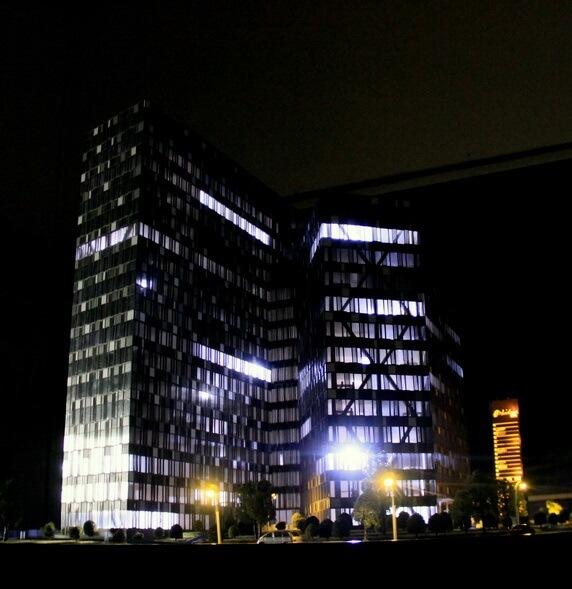 Illuminated office Model