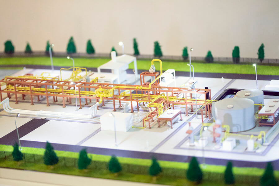 Oil and Gas Platform Model