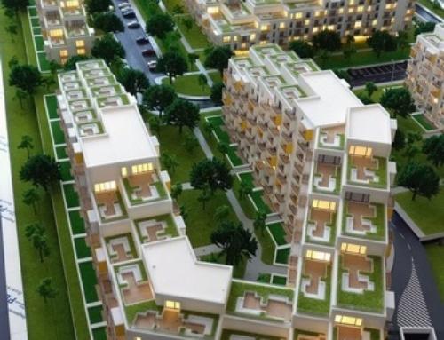 Residential District Model – Arbo Residence