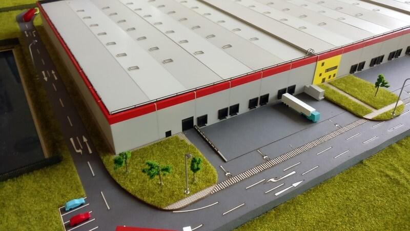 Warehouse scale model