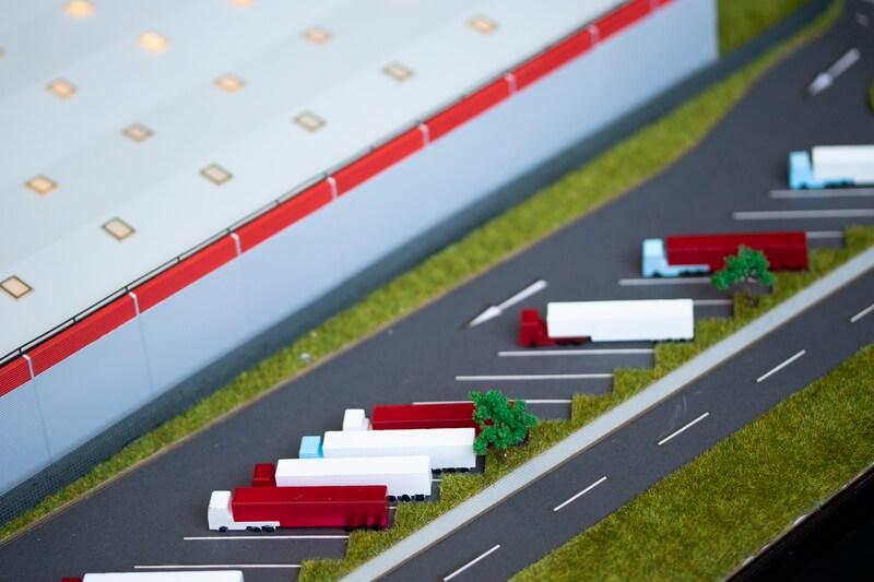 factory warehouse model