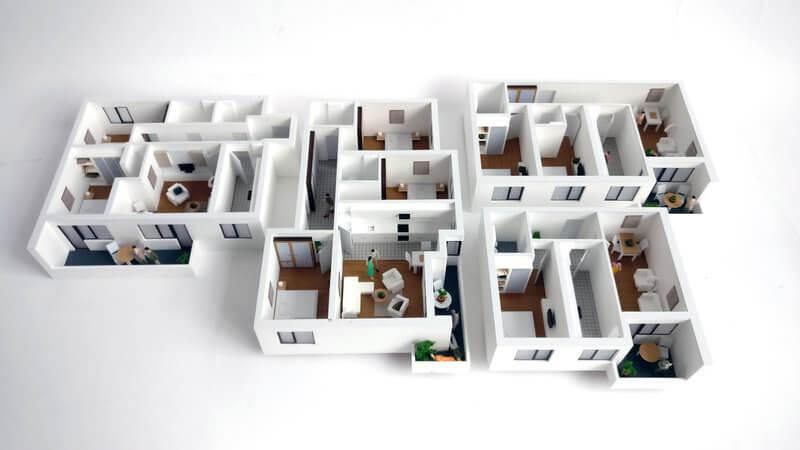 interior apartment Model