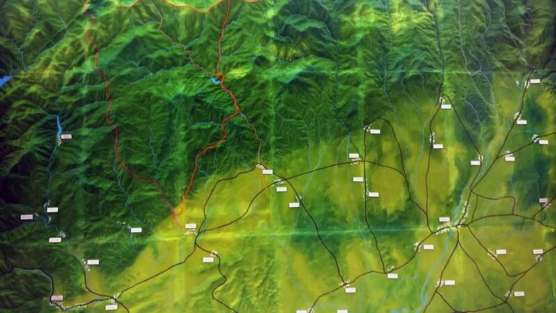 mountain Topographic model