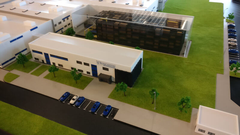 packaging factory model