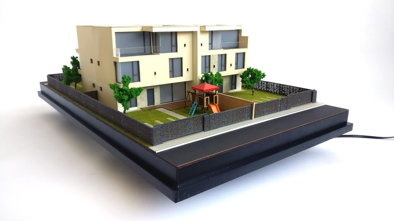 1:50 House Scale Model