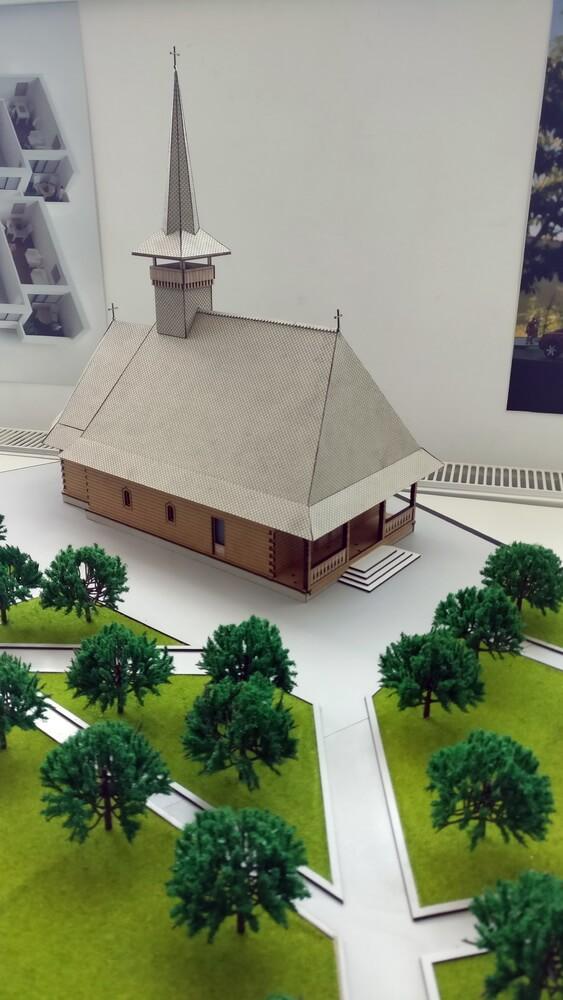1:50 scale model