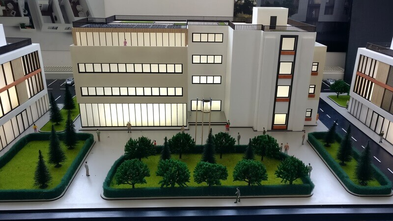 Administrative Building Scale model