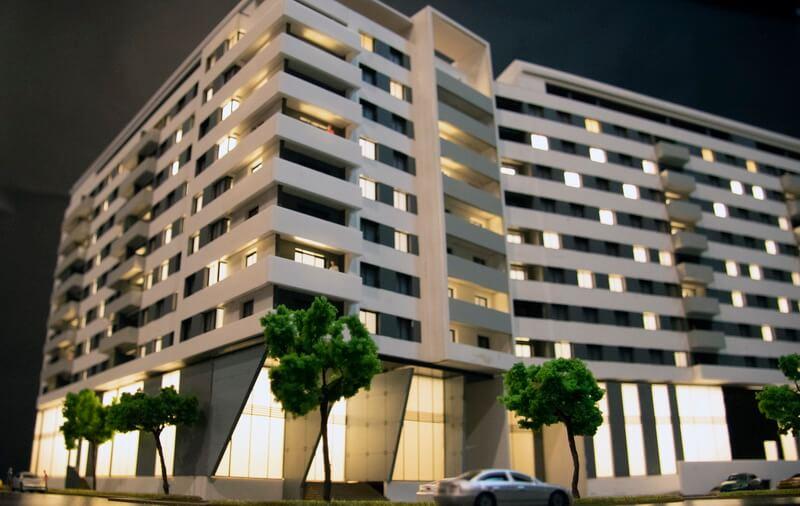 Apartments Buildings Model
