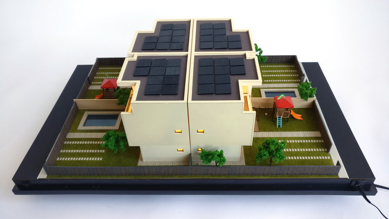 Architectural Model Houses