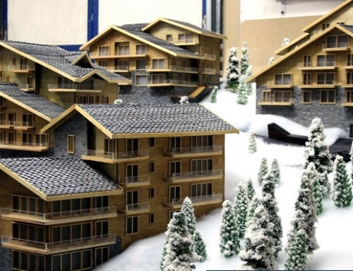 Model for housing development – 1:50 Scale