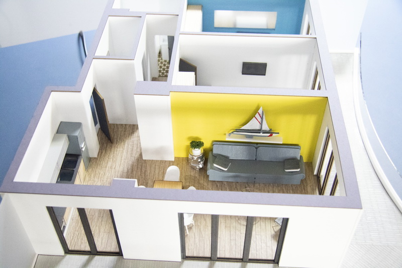 Detailed Interior Apartment Model