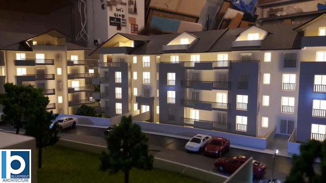 Housing Architectural Scale Model