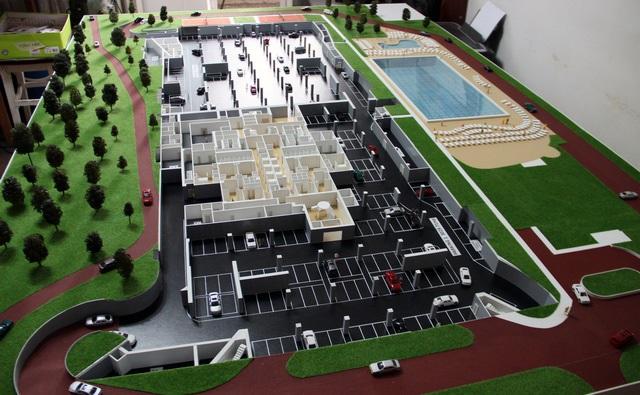 Sport center model
