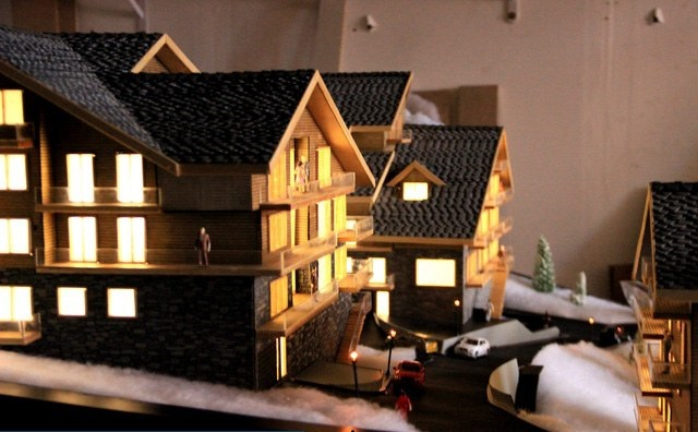 illuminated Housing scale Model