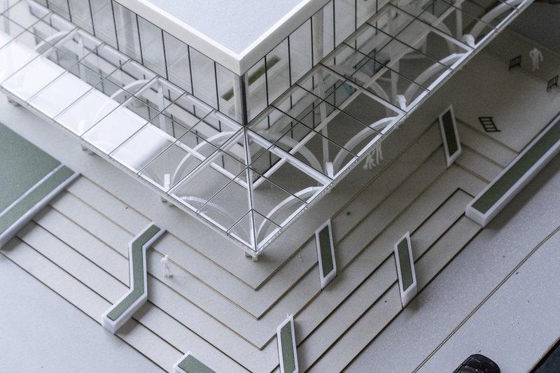 merket architectural model