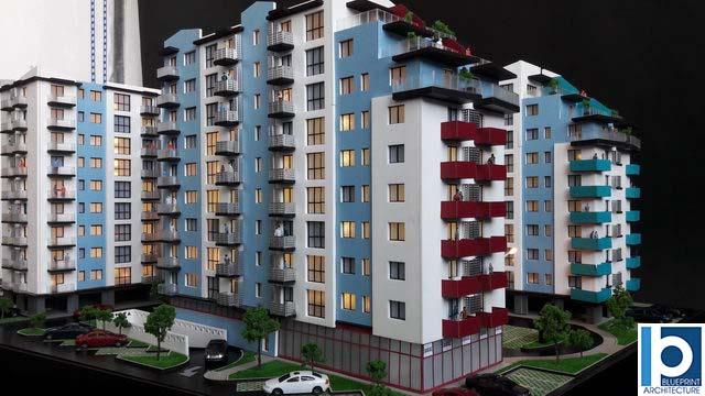 residential development scale Model