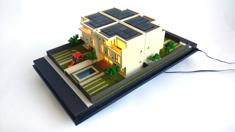 residential house model
