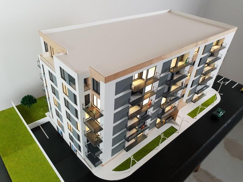 Apartment Building scale 1:50