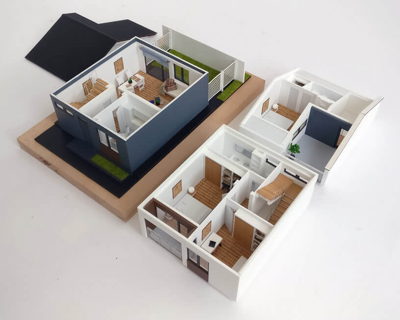 Detachable Scale Model House