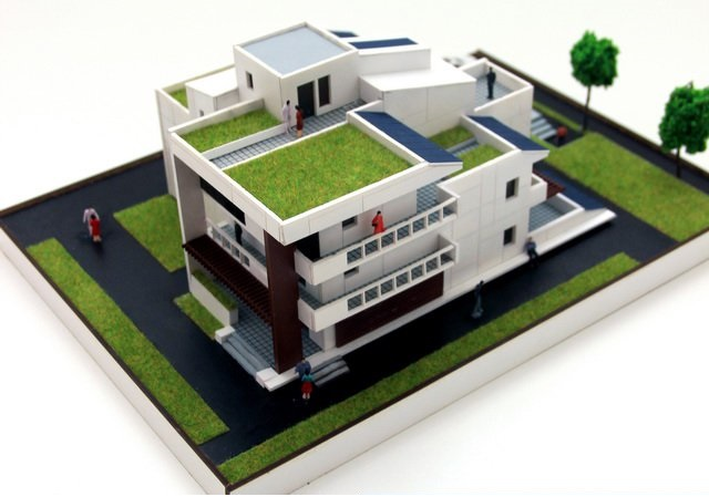 Eco House Scale Model