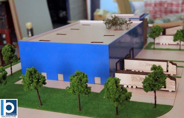 Industrial Building model