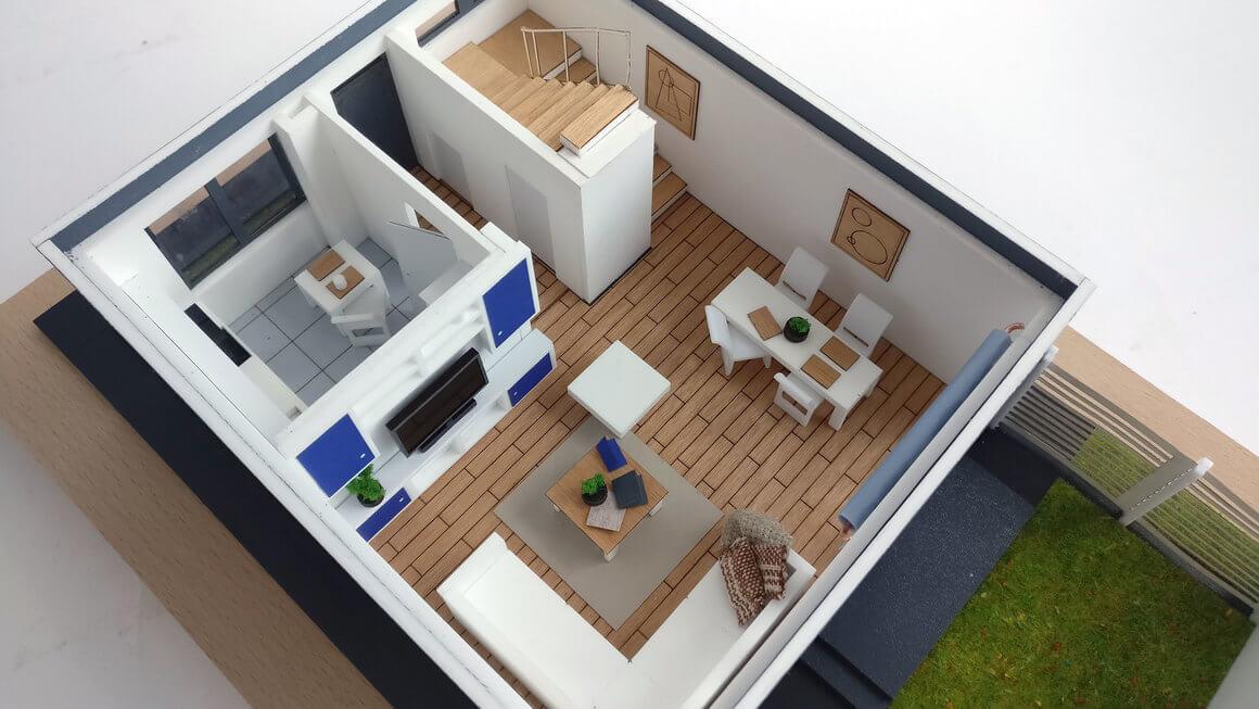 Interior Furniture scale model
