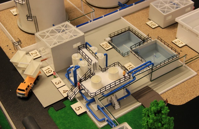 Model Industrial Wastewater Treatment Plant