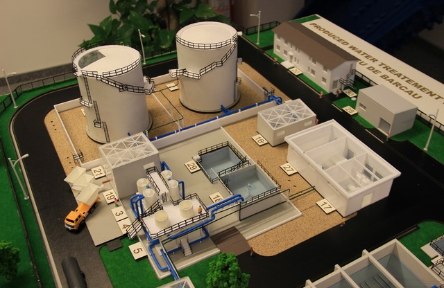 Model for Industrial Wastewater Treatment Plant