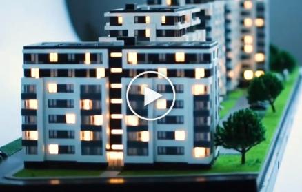 Residential Buildings Scale Models