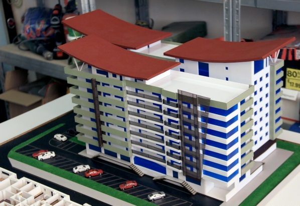 Residential building model
