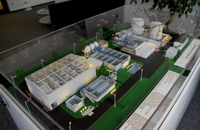 Wastewater treatment plant model