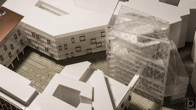 commercial spaces model