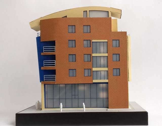 economical office building model