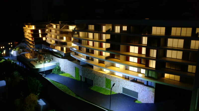 illuminated Architectural Models