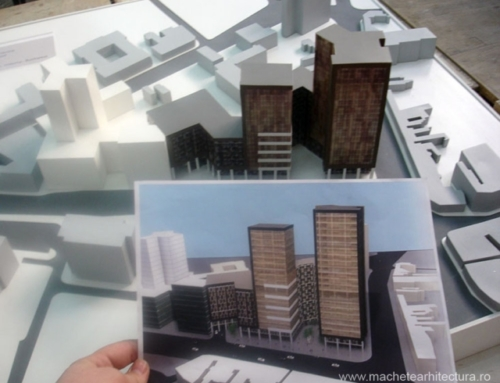 Office Building mass model