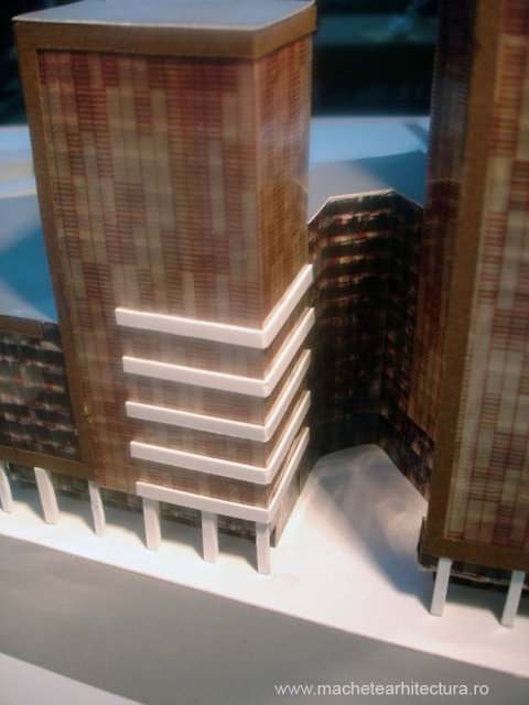 office buildings model