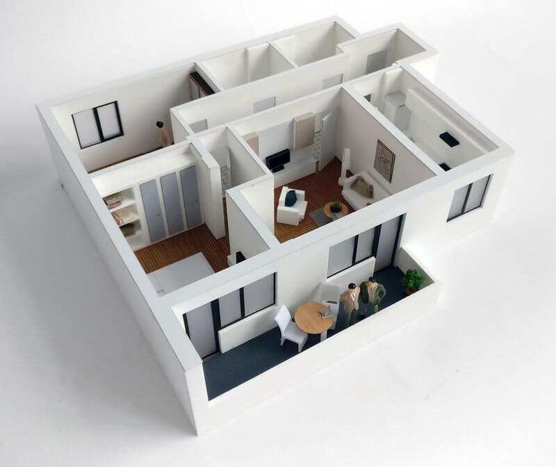 3 Bedroom Apartment Plan