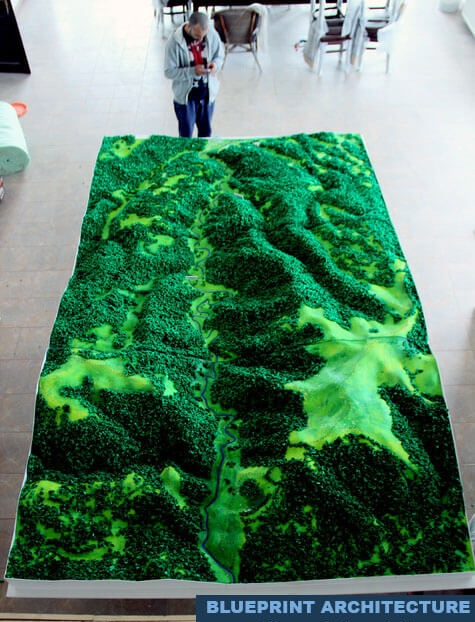 3D Topographical Model