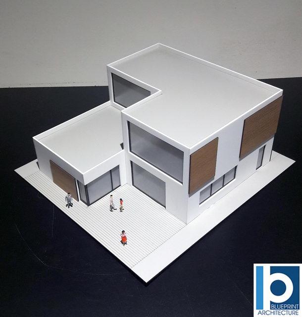 Architectural Model Villa