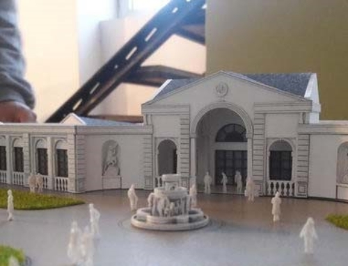Colonial Building Model – Events Hall
