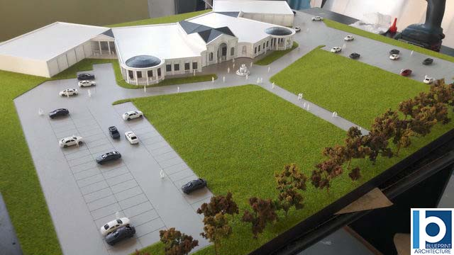 Events Hall model