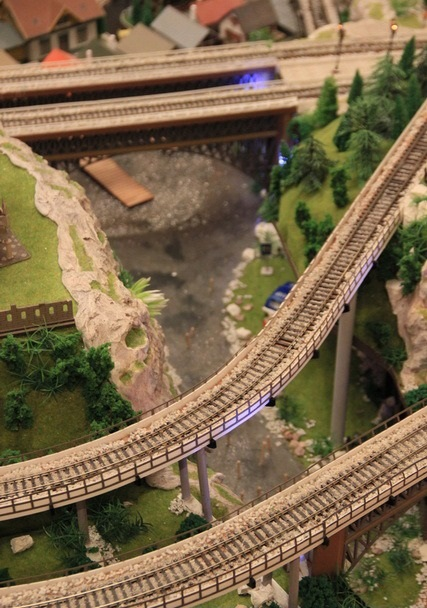 Railroad Model in HO Scale
