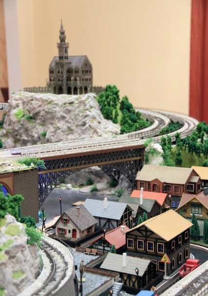 Scale Model Trains and Railroad